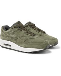 Nike - Air Max 1 Premium Suede Trainers - Lyst