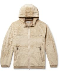 Nonnative - Sherpa Fleece Jacket - Lyst