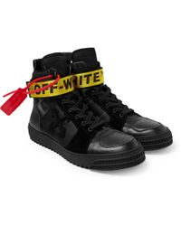 Off-White c/o Virgil Abloh - Industrial Hi Top Sneaker - Lyst