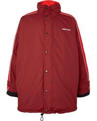 Balenciaga - Oversized Shell Jacket - Lyst