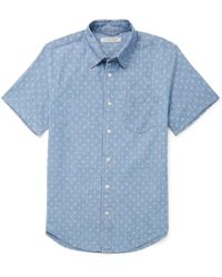 Outerknown - Printed Cotton-chambray Shirt - Lyst