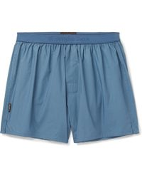 Ermenegildo Zegna - Cotton Boxer Shorts - Lyst