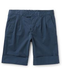 Boglioli - Stretch-cotton Shorts - Lyst