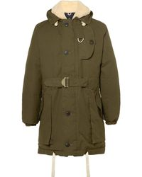 Nigel Cabourn - Antarctic Shearling-lined L27 Ventile Down Parka - Lyst