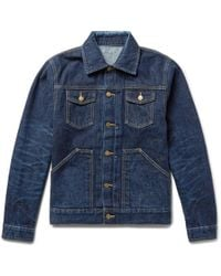 The Workers Club - Selvedge Denim Jacket - Lyst