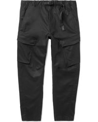Nike - Lab Tapered Stretch-cotton Cargo Trousers - Lyst