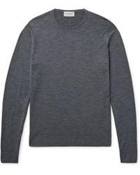 John Smedley - Lundy Merino Wool Sweater - Lyst