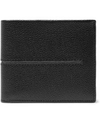 Tod's - Pebble-grain Leather Billfold Wallet - Lyst