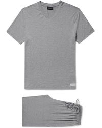 Ermenegildo Zegna - Stretch Modal-blend Pyjama Set - Lyst