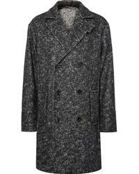 Berluti - Oversized Double-breasted Herringbone Felt Coat - Lyst