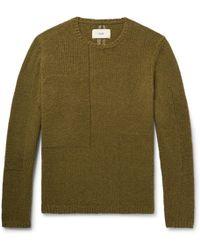Folk - Interference Wool-blend Sweater - Lyst