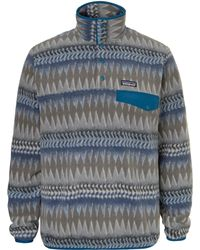 Patagonia - Snap-t Colour-block Synchilla Fleece Pullover - Lyst