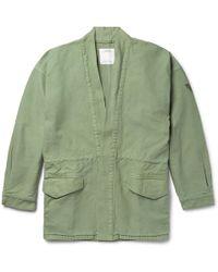 Visvim Sanjuro Printed Cotton Jacket