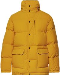 Aspesi - Quilted Nylon Hooded Down Jacket - Lyst