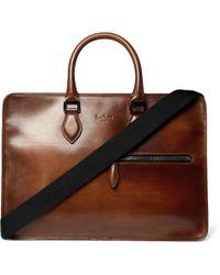 Berluti - Un Jour Leather Briefcase - Lyst
