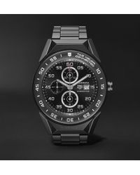 Tag Heuer - Connected Modular 41mm Pvd-coated Titanium Smart Watch - Lyst