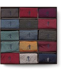 London Sock Co. - 15-pack Cotton-blend Socks - Lyst