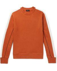 JOSEPH - Colour-block Loopback Cotton-jersey Sweatshirt - Lyst