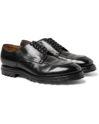 Officine Creative - Aspen Polished-leather Derby Shoes - Lyst