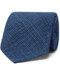 Thom Sweeney - 8cm Wool And Silk-blend Tie - Lyst