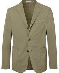 Boglioli - Green K-jacket Unstructured Stretch-cotton Twill Suit Jacket - Lyst