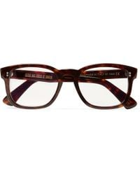b3c9afef2a Kingsman - + Cutler And Gross D-frame Tortoiseshell Acetate Optical Glasses  - Lyst