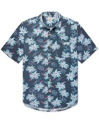 Faherty Brand - Printed Woven Shirt - Lyst
