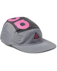 7b8b90350cd Nike Acg Aw84 Logo-appliquéd Printed Twill Baseball Cap in Black for ...