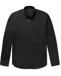 Theory - Sylvain Slim-fit Stretch Cotton-blend Shirt - Lyst