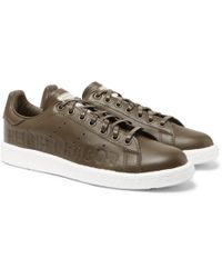 quality design a4fd5 acaa9 adidas Originals - + Neighborhood Stan Smith Leather Sneakers - Lyst