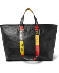 Balenciaga - Arena Medium Creased-leather Tote Bag - Lyst