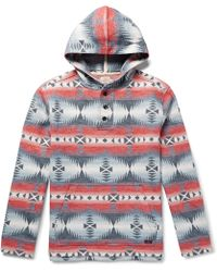Faherty Brand - Pacific Cotton-jacquard Hoodie - Lyst