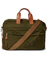 J.Crew   Harwick Leather-trimmed Shell Briefcase   Lyst
