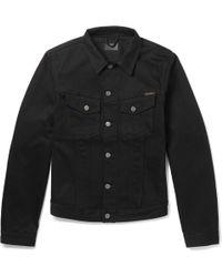 Nudie Jeans - Billy Slim-fit Organic Denim Jacket - Lyst