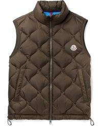 Moncler - Allemont Quilted Shell Down Gilet - Lyst