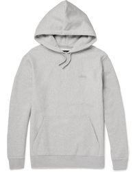 Stussy - Fleece-back Cotton-jersey Hoodie - Lyst