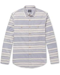 J.Crew | Carolina Striped Cotton Shirt | Lyst