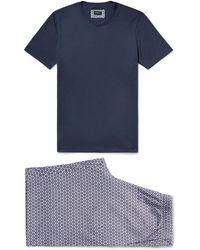 Hanro - Night And Day Cotton-jersey Pyjama Set - Lyst