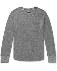 Todd Snyder - Loopback Cotton-jersey Sweatshirt - Lyst