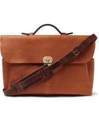 Bleu De Chauffe - Hank Full-grain Leather Briefcase - Lyst