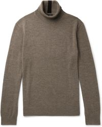 Club Monaco - Merino Wool Rollneck Jumper - Lyst