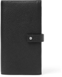 Saint Laurent - Full-grain Leather Wallet - Lyst