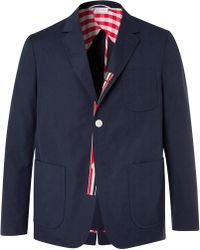 Thom Browne - Unconstructed Patch Pocket Blazer - Lyst