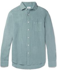 Hartford - Paul Slub Linen Shirt - Lyst