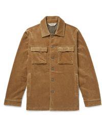 Aspesi - Cotton-corduroy Jacket - Lyst