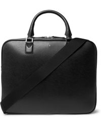 Montblanc - Sartorial Cross-grain Leather Briefcase - Lyst