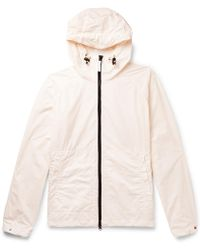 Aspesi - Garment-dyed Shell Hooded Jacket - Lyst