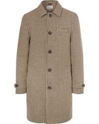 Oliver Spencer - Beaumont Houndstooth Wool Coat - Lyst