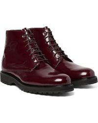 Want Les Essentiels De La Vie - Montoro Patent-leather Boots - Lyst