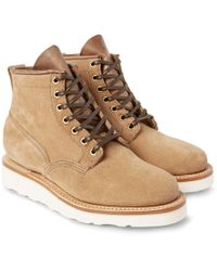 Viberg - Scout Roughout-leather Boots - Lyst
